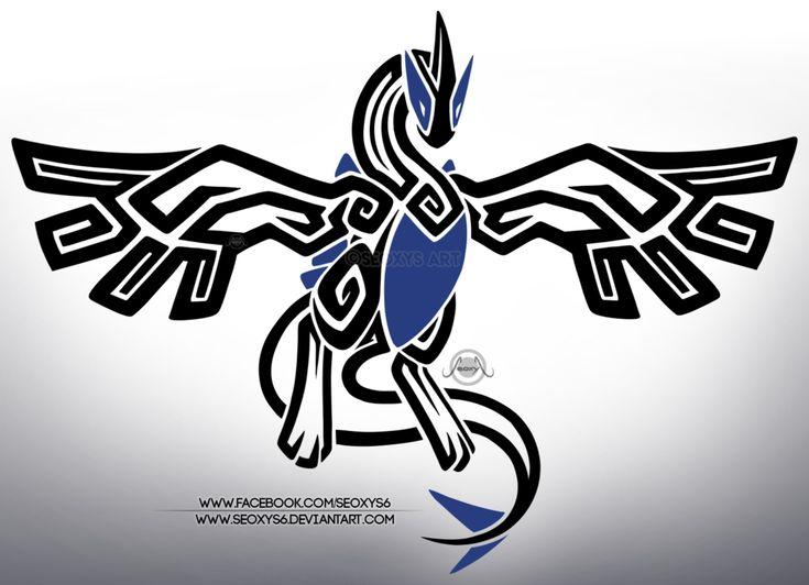 Tribal Lugia by Seoxys6.deviantart.com on @DeviantArt