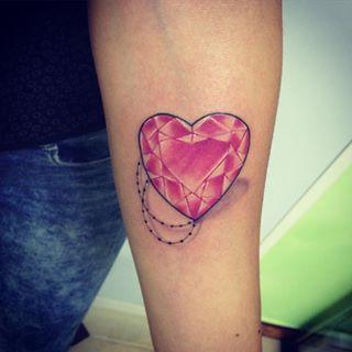 tattoo cuore diamante - Cerca con Google