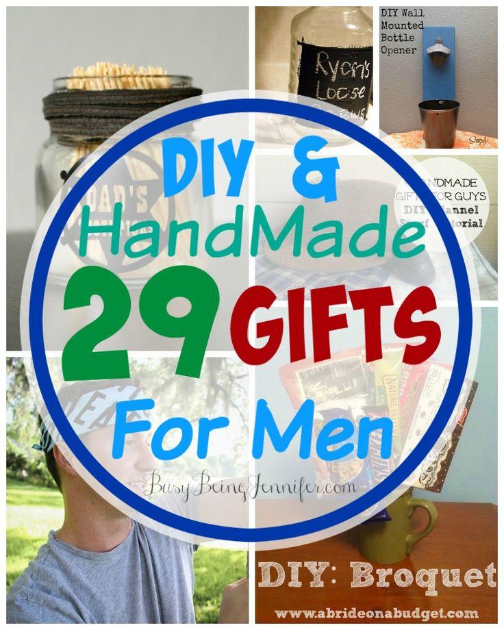 Best 25+ Handmade Gifts For Men Ideas On Pinterest