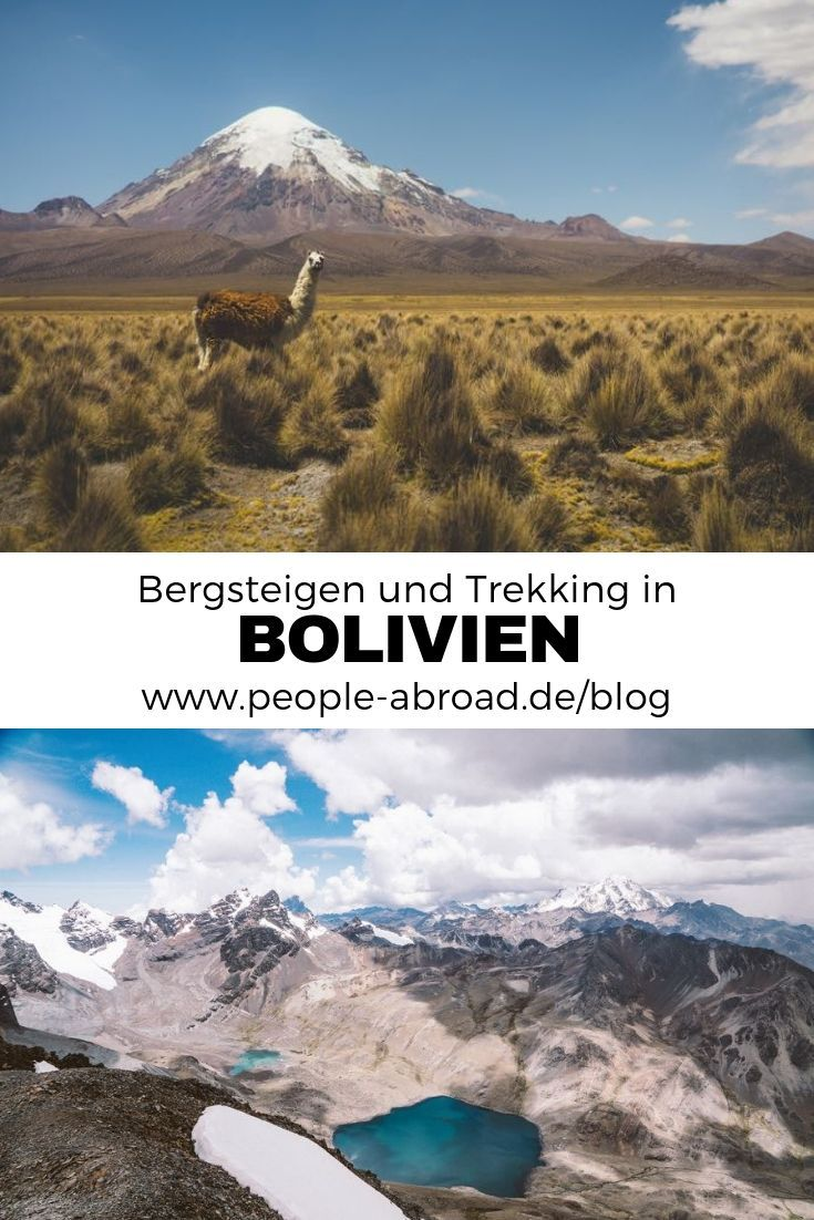 Bergsteigen und Trekking in Bolivien