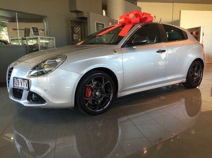 Roberts new Alfa Romeo Giulietta QV...