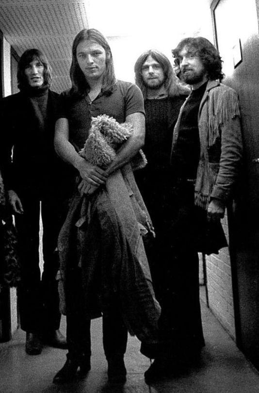 """rocknrollcanneverdie: """"Pink Floyd , Ludwigdhafener Eberthalle ( Germany ) 1970. """""""