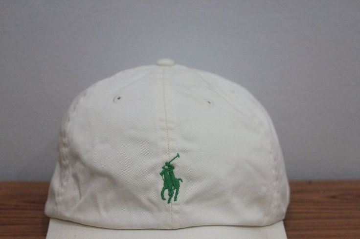 vintage polo sport ralph lauren golf pony cream hat cap leather strap from $12.0