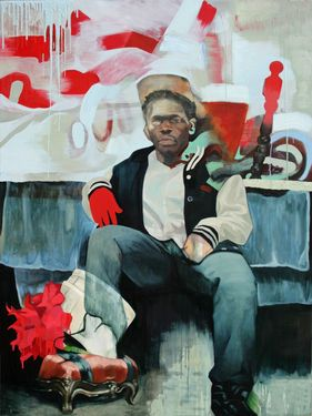 "Saatchi Art Artist Alex Jackson; Painting, ""Non-Functional Furnishings"" #art (Lisa Woolf)"