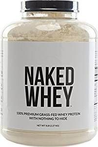 ONLY ONE INGREDIENT: 100% Grass Fed Pure Whey Protein with zero additives. Naked Whey no artificial sweeteners, flavors, or colors and is GMO-Free, Growth Hormone Free, Soy Free and Gluten-Free.     ALL NATURAL WHEY: Our Grass Fed Whey is sourced from small dairy farms in California to bring you a non-denatured whey packed full of essential amino acids, clean protein and glutathione.     MAXIMUM NUTRITION: 25g of Protein, 2g of Sugar, 3g of Carbs, 120 Calories, and 5.9g of BCAAs…