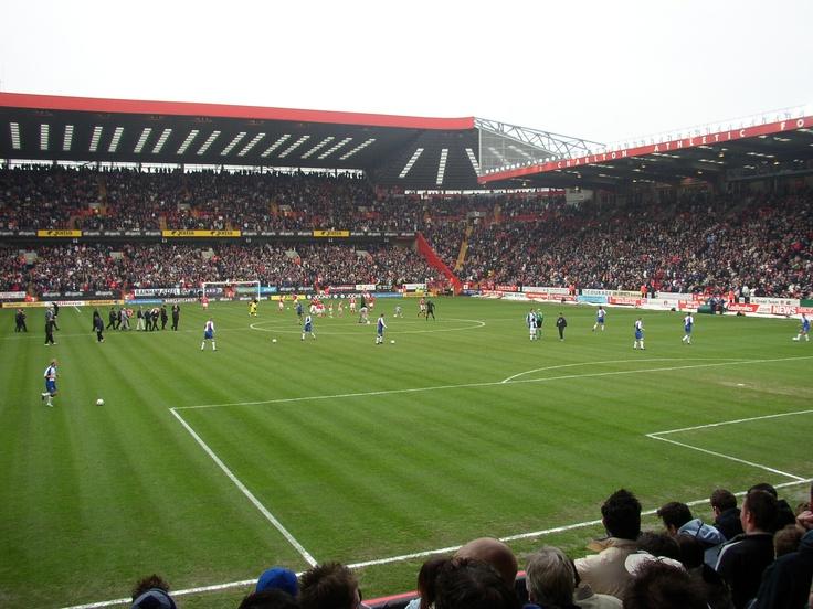 Charlton Athletic Football Club. The Valley, London, England.