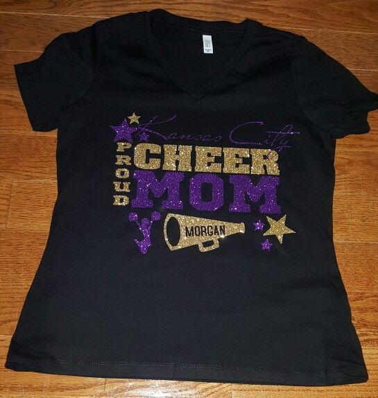 kansas city cheer mom - Cheer Shirt Design Ideas