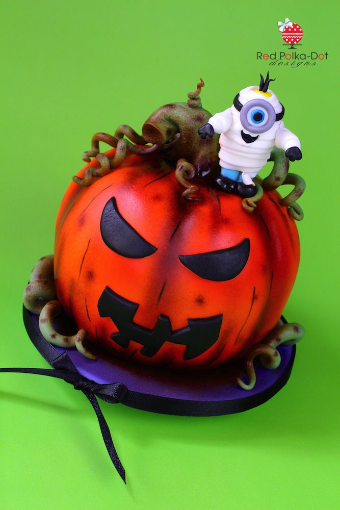 Spooky Halloween cake, by Red Polka-Dot Designs