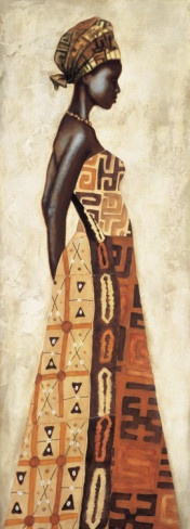 Femme Africaine I Art Print