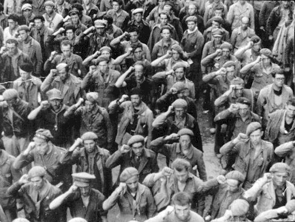 Lincoln Brigade volunteers, Spanish Civil War