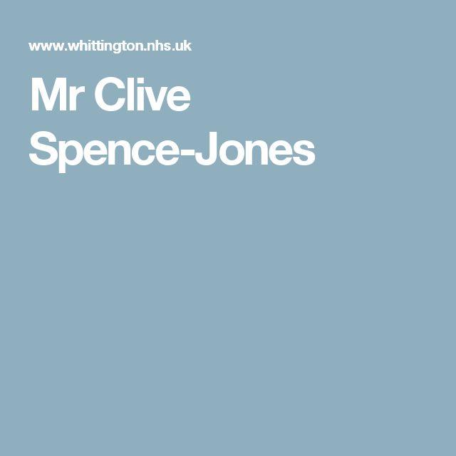 Mr Clive Spence-Jones