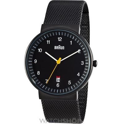 Mens Braun Watch BN0032BKBKMHG