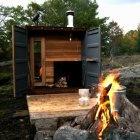 A Midcentury Cabin in Amagansett : Remodelista