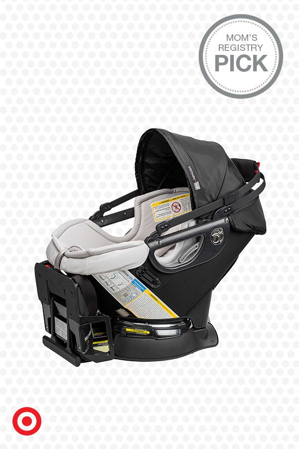Love the state-of-the-art safety features and parent-friendly design of this Orbit Baby G3 Infant Car Seat. You can dock the car seat at any angle and rotate your baby in one, smooth motion into the car. Plus, the base is easy to install. When your little one outgrows the car seat, you can keep the base in the car and transition to the toddler seat. It's a baby registry must!