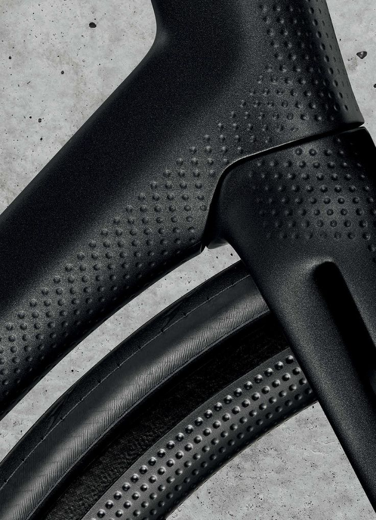 rigorous standards and two years of extensive wind tunnel tests shape heroin's carbon fiber bicycle