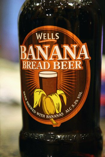 A dessert and beer in one! Banana Bread Beer by Wells