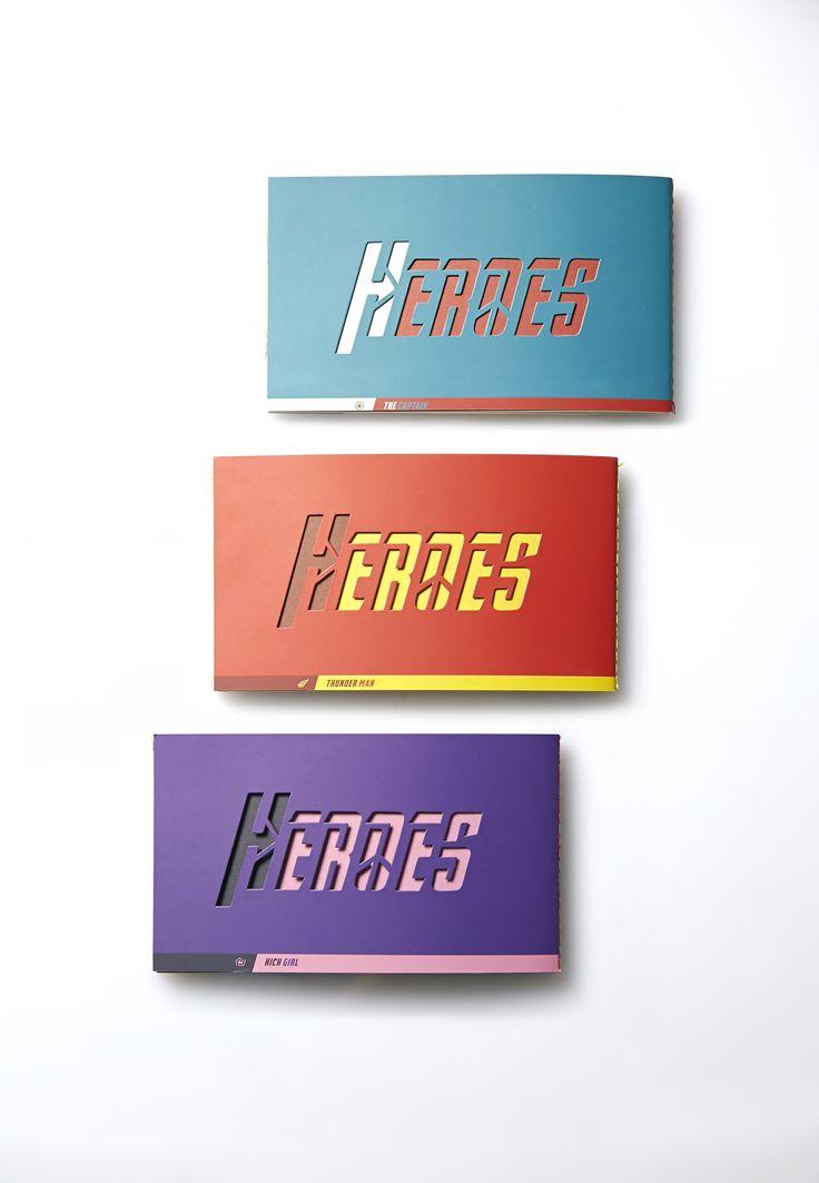 Hero Notebook - Everyone can be the hero!