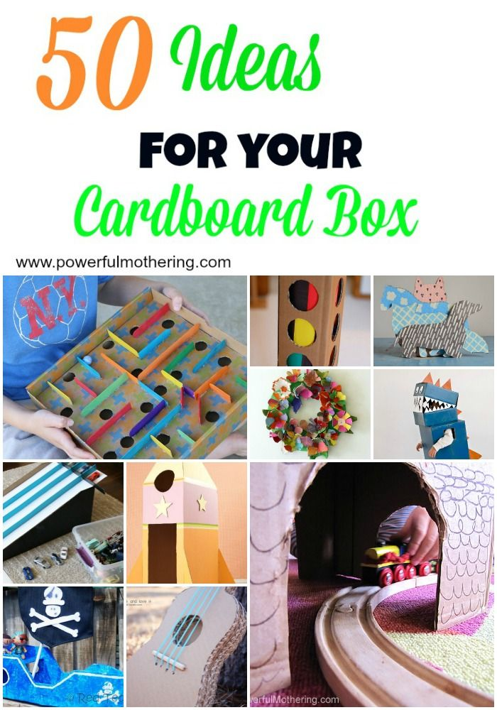 how to make a boat out of cardboard box