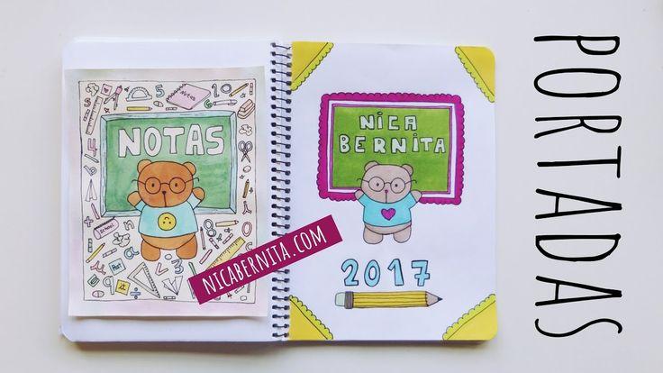 Portadas Para Cuadernos Y Libretas Con DiseÑos Marinos: PORTADAS PARA CUADERNOS. Decora Tus Libretas Con Dibujos