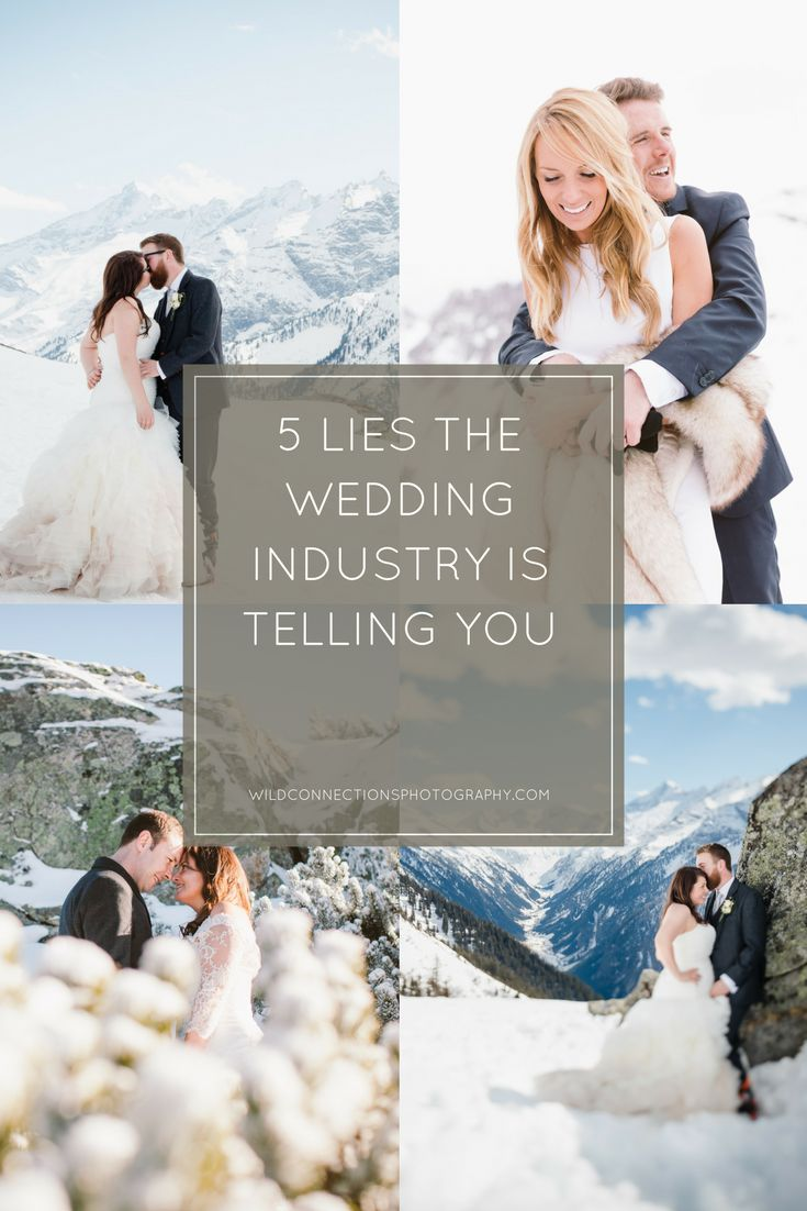 Wedding Planning Advice - 5 Lies The Wedding Industry Is Telling You