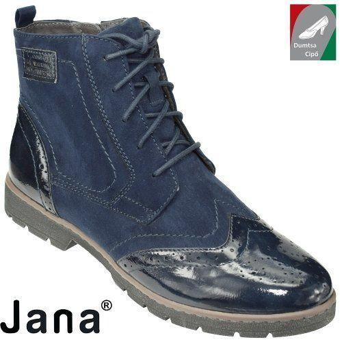Jana női bakancs 8-25265-29 805 sötétkék
