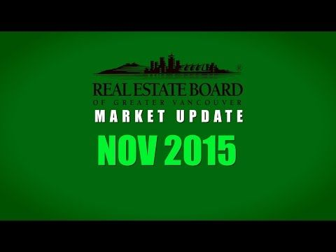 November 2015 Market Summary | Real Estate Board of Greater Vancouver