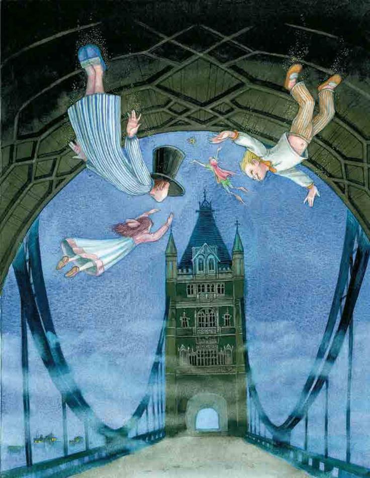 Иллюстрации к книге питер пэн