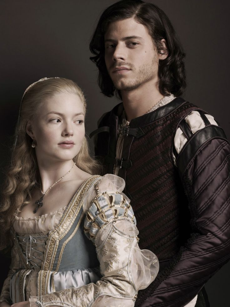 Lucrezia and Cesare Borgia from The Borgias. I love this show. I'm obsessed with the Italian Renaissance. The Borgia family, Rome, Florence, Machiavelli, the Sforza family, the corruption of the Vatican... it's all super fascinating. The show isn't always historically accurate, but it's still super good.