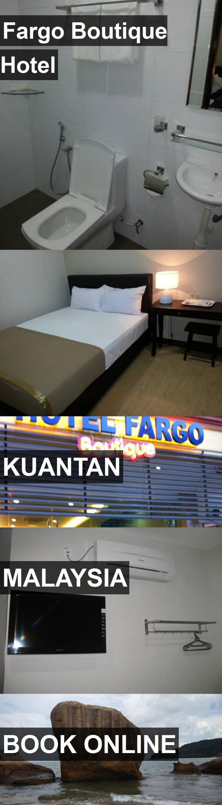 Fargo Boutique Hotel in Kuantan, Malaysia. For more information, photos, reviews and best prices please follow the link. #Malaysia #Kuantan #travel #vacation #hotel