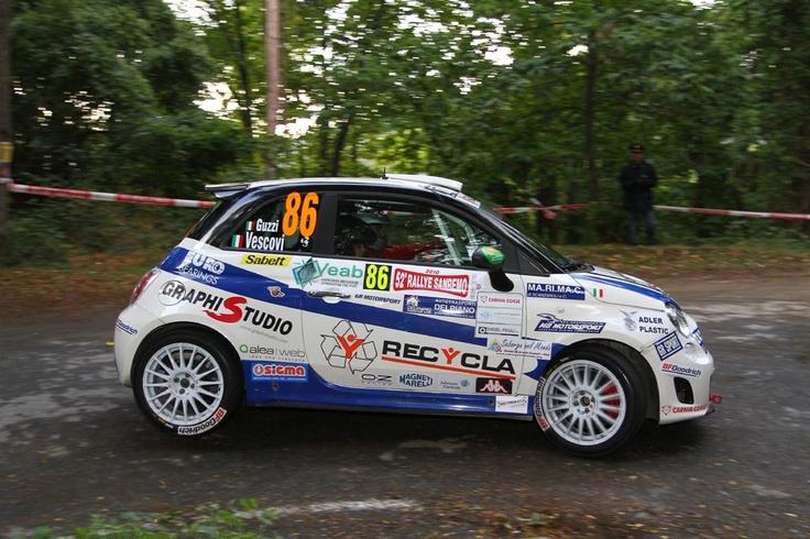The Trofeo Abarth 500 Rally