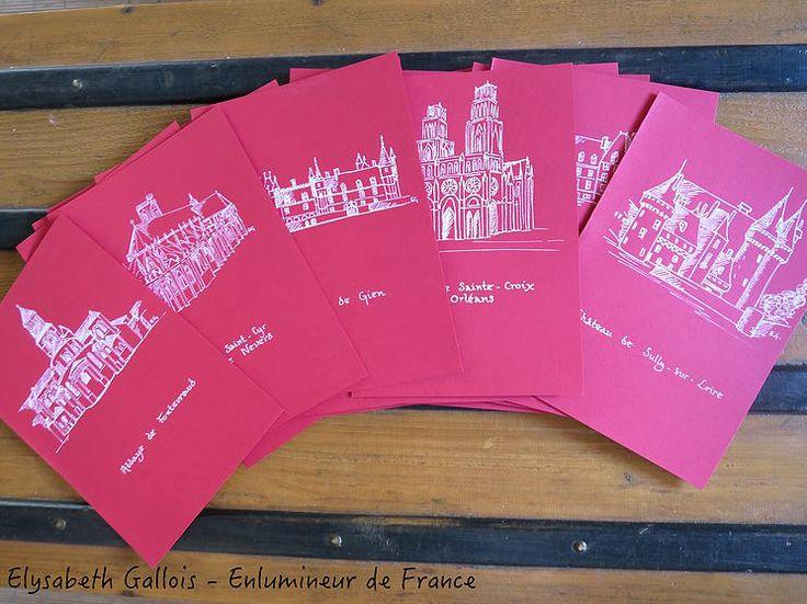 www.elysabethgallois.com Elysabeth Gallois - Enlumineur de France / Créations / Menus mariage - Châteaux de la Loire