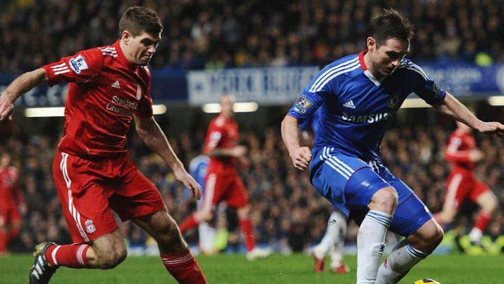 Steven Gerrard Frank Lampard Liverpool Chelsea