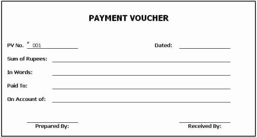 Loan Payment Coupon Book Template Beautiful Top 5 Free Payment Voucher Templates Word Templates Vouchers Template Payment Voucher Coupon Book