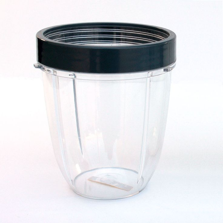 NutriBullet 18 OZ Short Cup Includes Lip Ring NutriBullet 18 OZ Short Cup Includes Lip Ring, attach it to your NutriBullet Extractor Blade or NutriBullet Flat Milling Blade.Compatible with both 600w and 900w NutriBullet Blender.