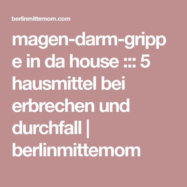 magen-darm-grippe in da house ::: 5 hausmittel bei erbrechen und durchfall | berlinmittemom