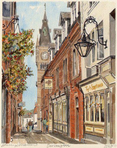 Darlington Art Print by Philip Martin at King & McGaw