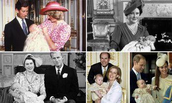 Recordamos los bautizos de la Familia Real británica días antes de asistir al de Charlotte de Cambridge