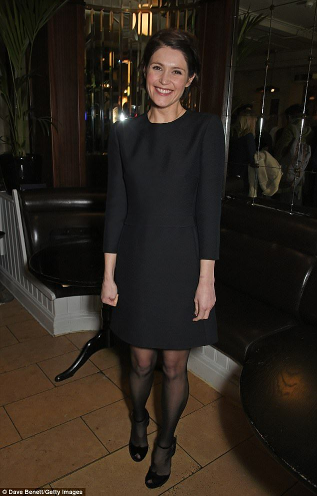 Chic: Gemma Arterton, 32, looked sensational as she arrived for the press night after party for the Long Day's Journey Into Night in London Feb 2018