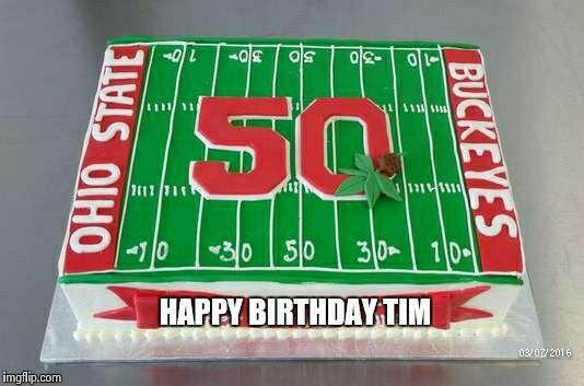 Ohio state cake  (Tim)