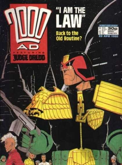 Judge Dredd - 2000 AD 571