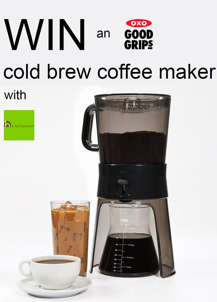#Win an @oxo cold brew coffee maker with @hisforhome Enter here>> http://4ho.me/OXObrew #competition #giveaway