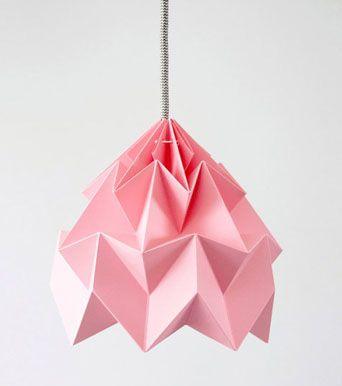 Lustre Origami suspension éclairage