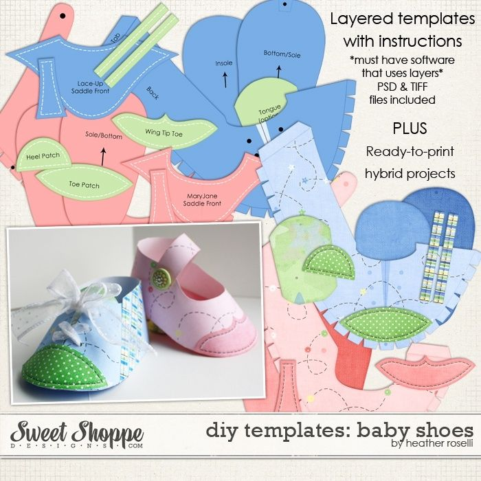 Free Paper Shoe Template Templates Diy Printable