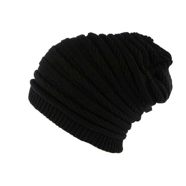 Bonnet Rasta Oversize Noir Jack Nyls Creation #bonnet #mode #bonplan #streetwear #soldes2016 sur votre #startup Hatshowroom.com