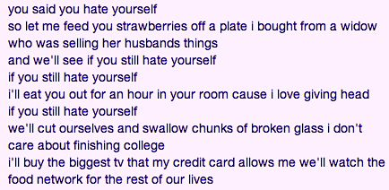 Teen Suicide - Salvia Plath