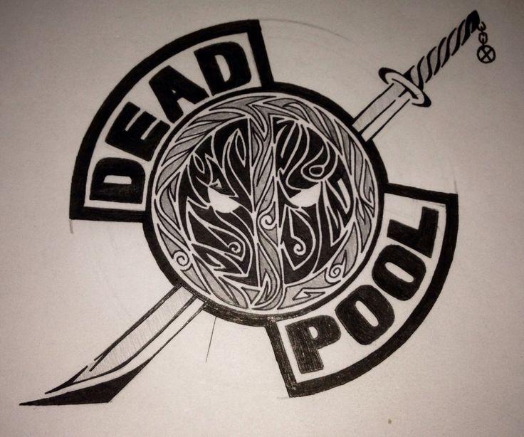 Deadpool Logo by guiltyspark0343.deviantart.com on @DeviantArt