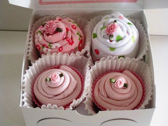 great gift idea! onesies made to look like cupcakes :)