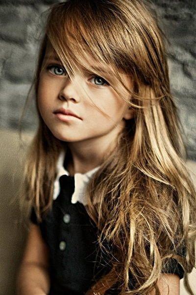 4 Year Old Russian Model Kristina Pimenova // In Need Of A