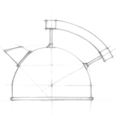 Designing a kettle (Mads Odgård for Raadvad)