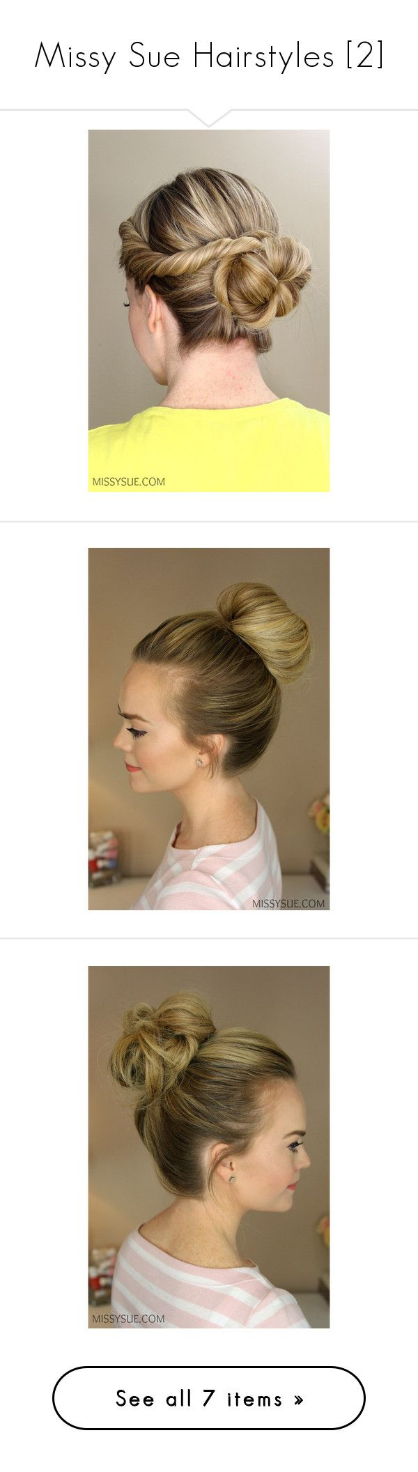 """""""Missy Sue Hairstyles [2]"""" by demiwitch-of-mischief ❤ liked on Polyvore featuring accessories, hair accessories, hair, braided headband, woven headbands, braided hairband, twisted headband, head wrap headband, hair band accessories and holiday hair accessories"""